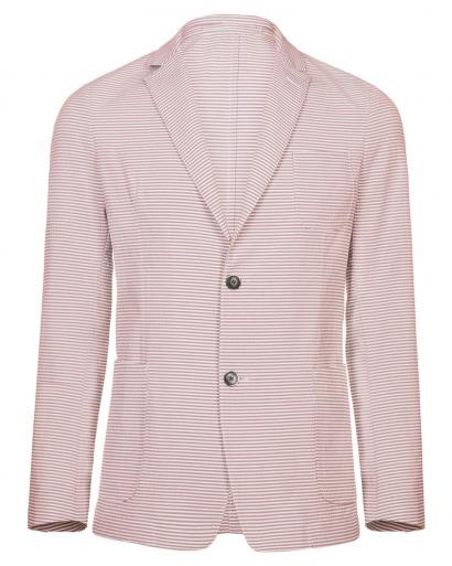 Pink Seersucker Jacket