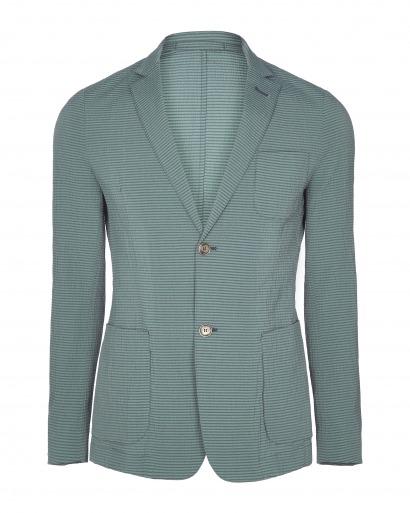 Green Seersucker Jacket
