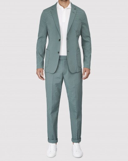 Green Mens Suit