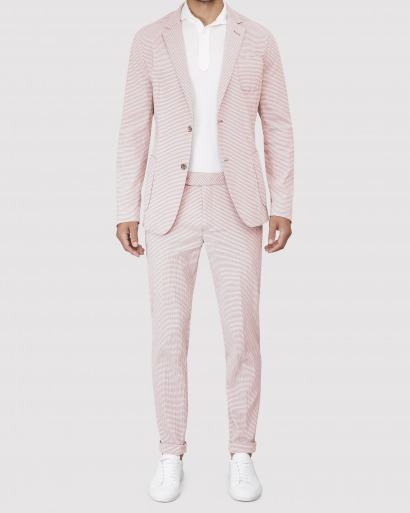 Pink Suit tailored