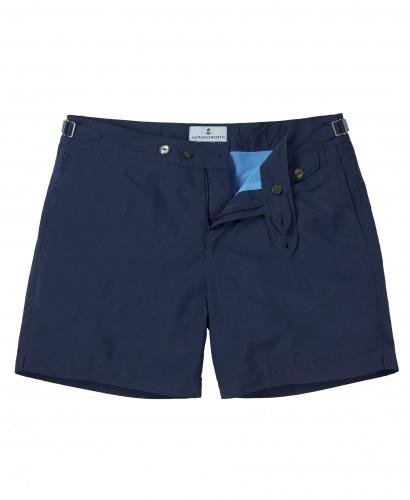 Luxury Navy Swim short