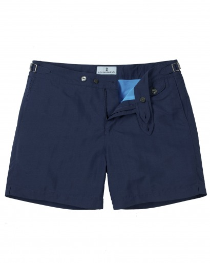 Luxury Navy Swim short