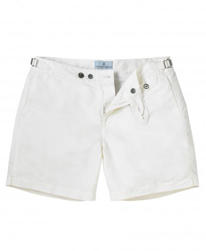 Luxury White Swim short