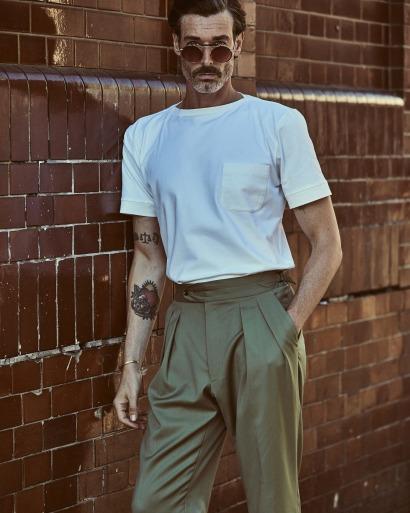 White Luxury T-Shirt
