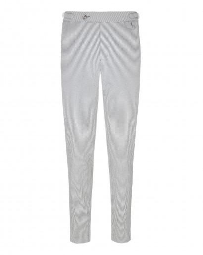 Grey Seersucker Trouser