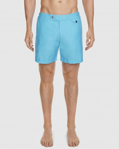 luxury blue swim short