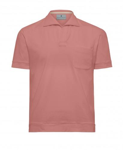 Luxury Pink Polo