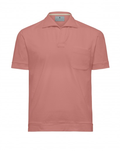 Luxury Pink Polo
