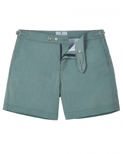 Green Swim Short