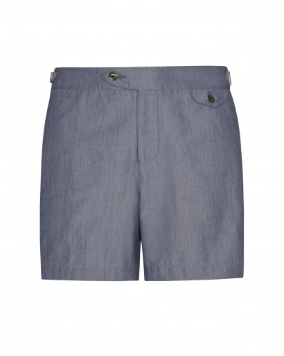 Indigo Chambray Cabana Short