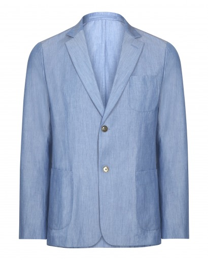 Light Blue Chambray Jacket